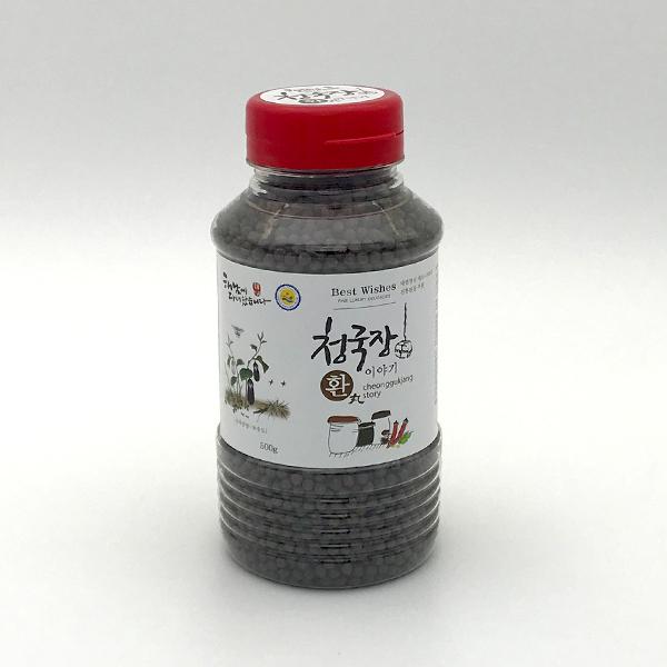 명인이 만든 쥐눈이콩 청국장환 500g
