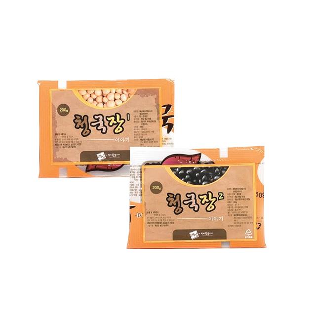 청국장 이야기 찌개용(200g x 5), 기타요리용(200g x 5)