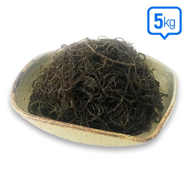 [장흥청정해초] 염장 꼬시래기 5kg